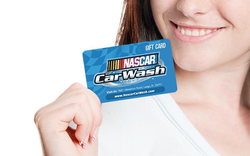 NASCAR Car Wash Gift Cards